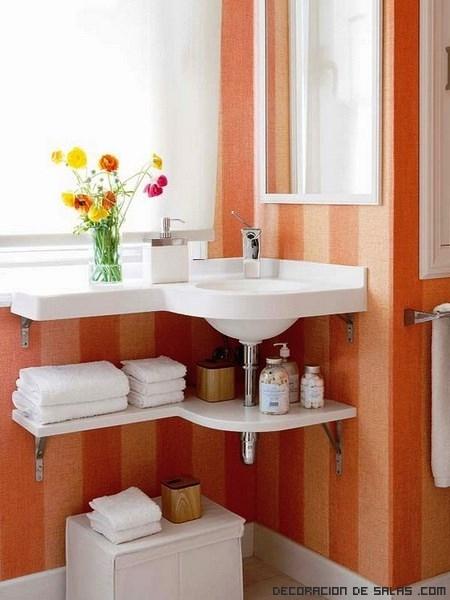 Decoracion De Baños Ideas:baños de colores