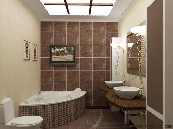 Azulejo Para Baño Verde:Para un estilo más clásico y que perdurará en el tiempo, pasando de