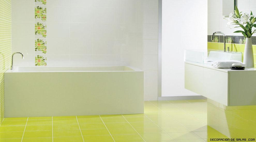 Pisos Para Baño Modernos:De igual manera, nos gustan los espejos sin ningún tipo de marco y si