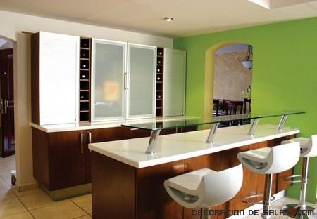 Tips para elegir la barra de la cocina for Sillas barra cocina