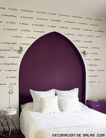 5 cabeceros originales con vinilo - Cabeceros de cama originales caseros ...