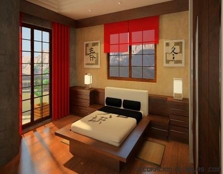 camas con estilo oriental