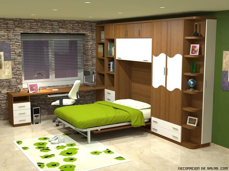 Camas plegables - Ideas para decorar pisos pequenos ...