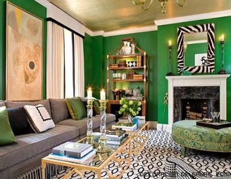 Llega la primavera y el verde esmeralda