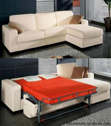 Sof s cama para espacios reducidos - Muebles funcionales para espacios reducidos ...