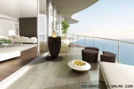Chimeneas originales glamm - Chimeneas para terrazas ...