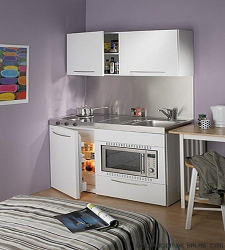 Mini cocinas para espacios muy reducidos for Cocinas en espacios reducidos