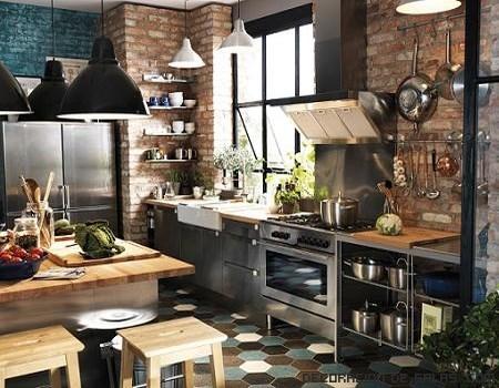 Cocinas de estilo industrial - Cocinas con estilo moderno ...