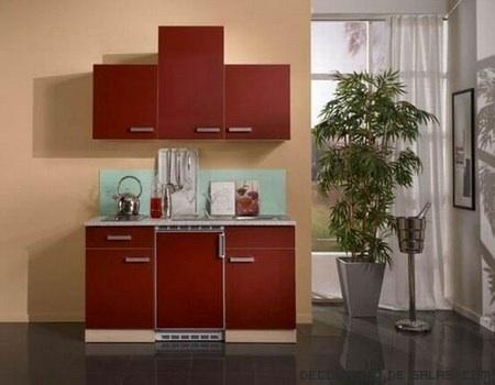 Mini cocinas para espacios muy reducidos for Cocinas integrales modernas para espacios pequenos