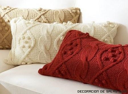 Cojines de lana para decorar tu hogar - Cojines de lana ...