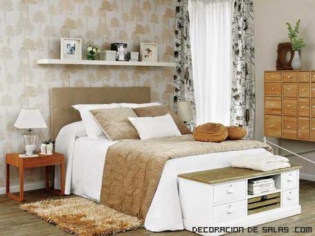Reinventa tu dormitorio - Decorar cama con cojines ...