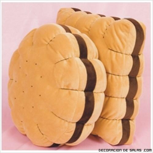 Cojines en forma de galleta - Como hacer cojines originales ...