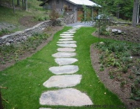 Decora tu jard n con piedras - Muebles de piedra para jardin ...