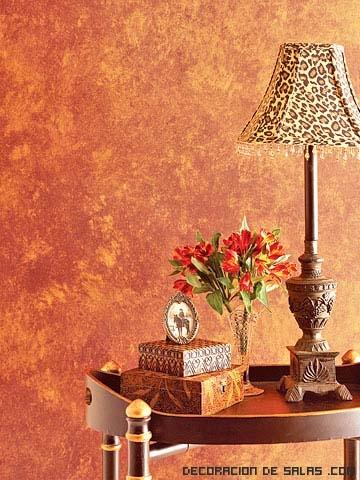 pintar las paredes con una esponja. Black Bedroom Furniture Sets. Home Design Ideas