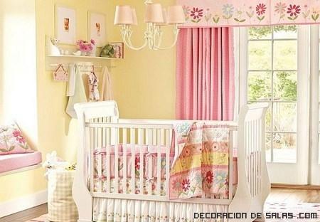 Elegir las cortinas para la habitaci n del beb - Cortinas para habitaciones de bebes ...