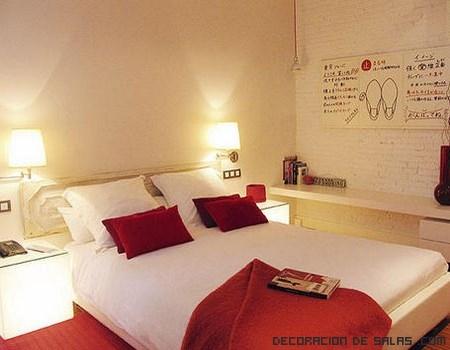 C mo iluminar una habitaci n peque a - Lamparas de techo dormitorio ...