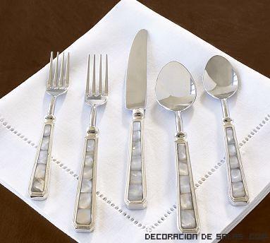 Tenedores de plata