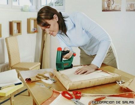 Cómo tapizar sillas paso a paso
