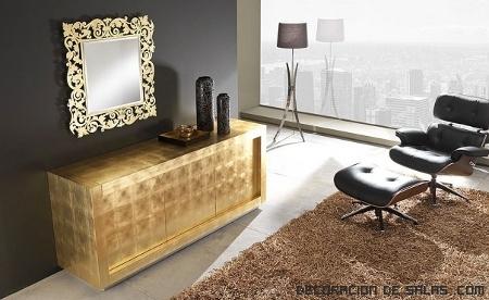 Consejos para decorar con tonos dorados - Consejos de decoracion de habitaciones ...
