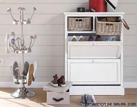 Ideas para la organizaci n de los zapatos for Imagenes de muebles para zapatos