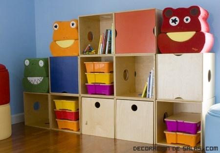 Mueble almacenaje juguetes reciclar muebles ikea hacks - Muebles almacenaje ninos ...