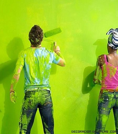 Pintar la casa consejos b sicos - Consejos para pintar paredes ...