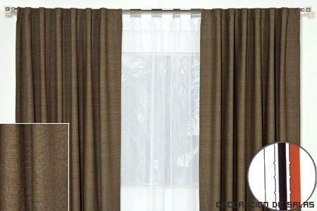 Telas para toda la casa for Telas para cortinas salon