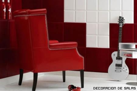 Azulejos en las paredes