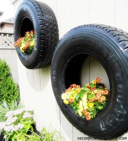 Macetas muy originales para alegrar tu hogar - Decoracion con ruedas ...