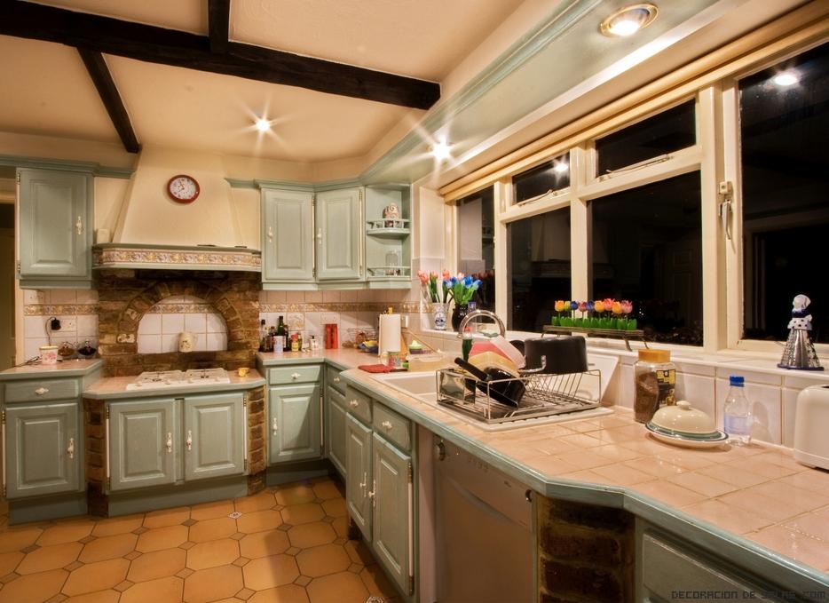 Crea una cocina ecol gica for Materiales de cocina