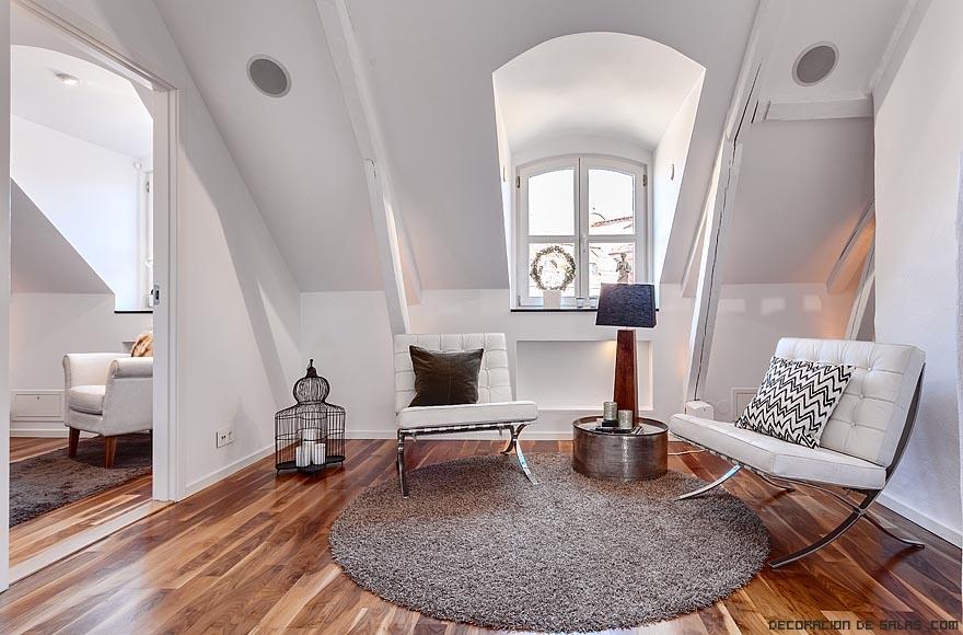 Combina la madera con el color blanco for Dormitorio blanco y madera