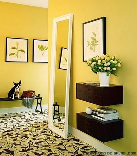 Los colores en la decoraci n ii - Colores pasillos interiores ...