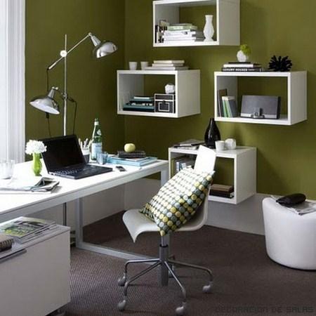 Decoraci n de la oficina en casa for Oficina moderna en casa