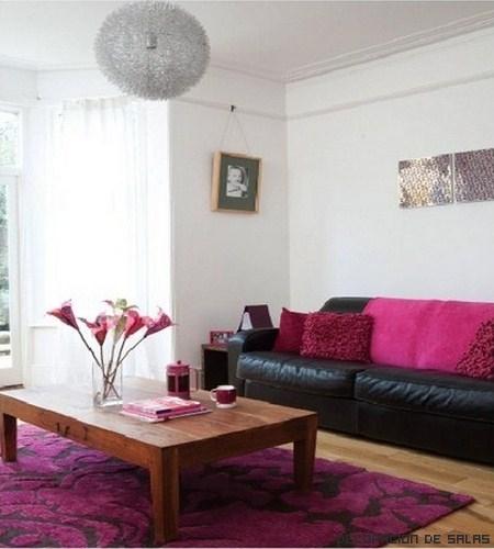 Te atrever as a decorar un sal n de rosa for Como decorar un salon blanco