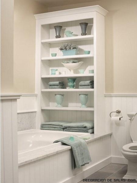 Ideas para decorar ba os peque os - Mueble encima wc ...