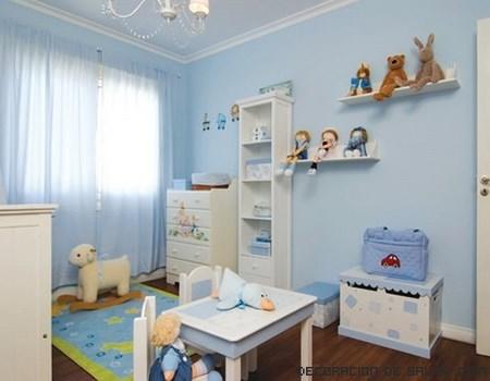 Elegir las cortinas para la habitación del bebé