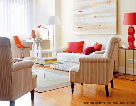 Decorar un sal n cuadrado - Decorar salon en l ...