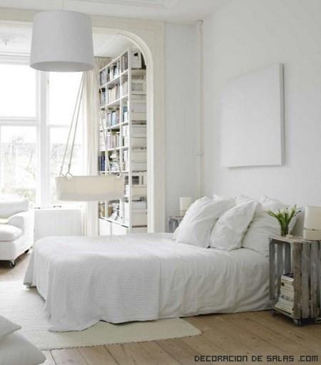 Decoraci n neutra en color blanco - Casas decoradas en blanco ...