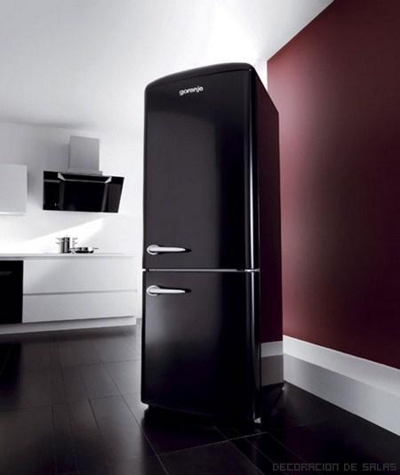 Una cocina llena de color gracias al frigor fico - Electrodomesticos de colores ...