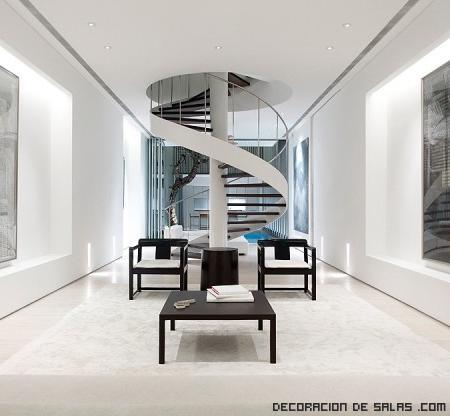 Escaleras para apartamentos pequeños