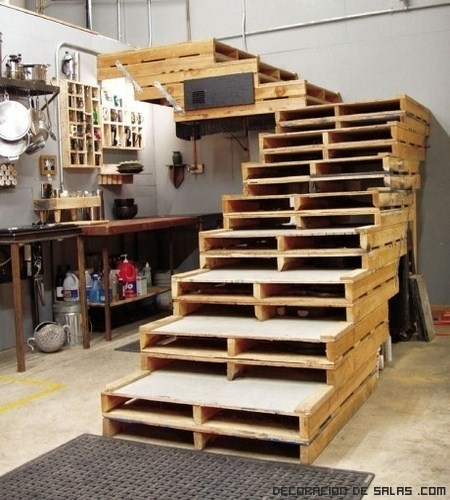 Ideas de muebles reciclados con palets - Palets muebles reciclados ...