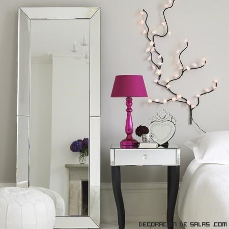 Espejos de pie modernos for Espejos para habitaciones
