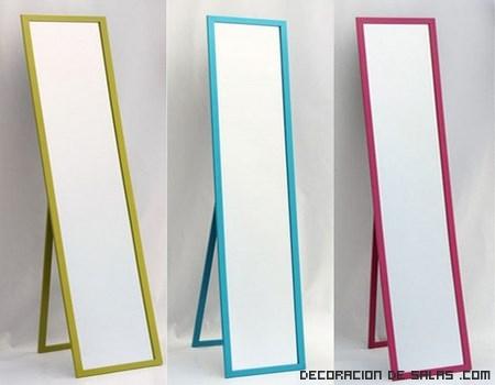 Espejos de pie modernos for Marcos para espejos de pie