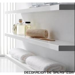 Estanter as para ba os for Estanteria bano toallas