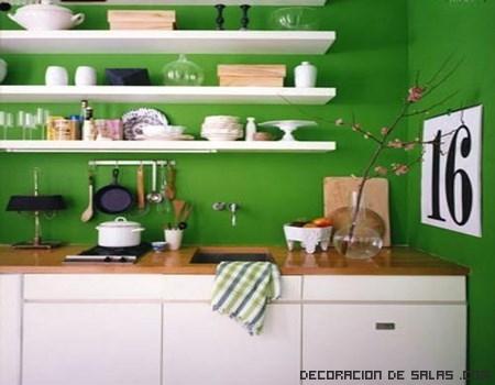 Estanter as para cocinas - Como hacer estantes de cocina ...