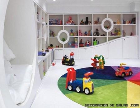 C mo decorar una habitaci n de juegos - Ideas decoracion habitacion infantil ...