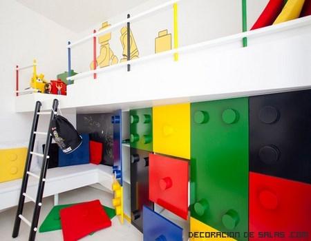Habitaciones infantiles decoradas con lego - Ver habitaciones infantiles ...