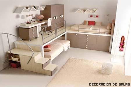 Ordenar la habitación del niño