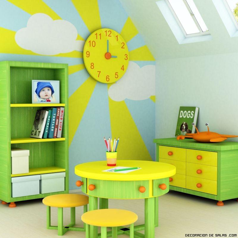 Cómo decorar una habitación de juegos