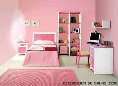 habitaciones decoradas para niñas